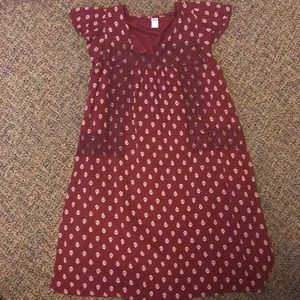 Red print Old Navy dress